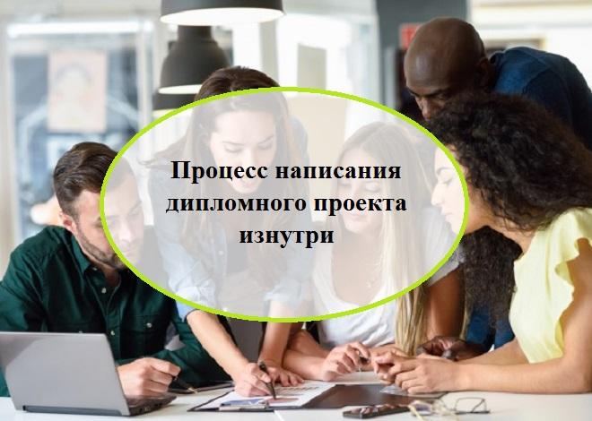 Процесс написания дипломного проекта изнутри