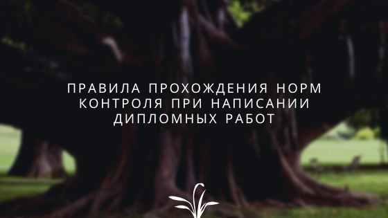 Правила прохождения норм контроля при написании дипломных работ для Московского государственного университета путей и сообщений (МГУПС, МИИТ)