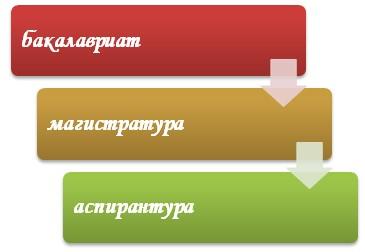 Последовательность этапов в образовании
