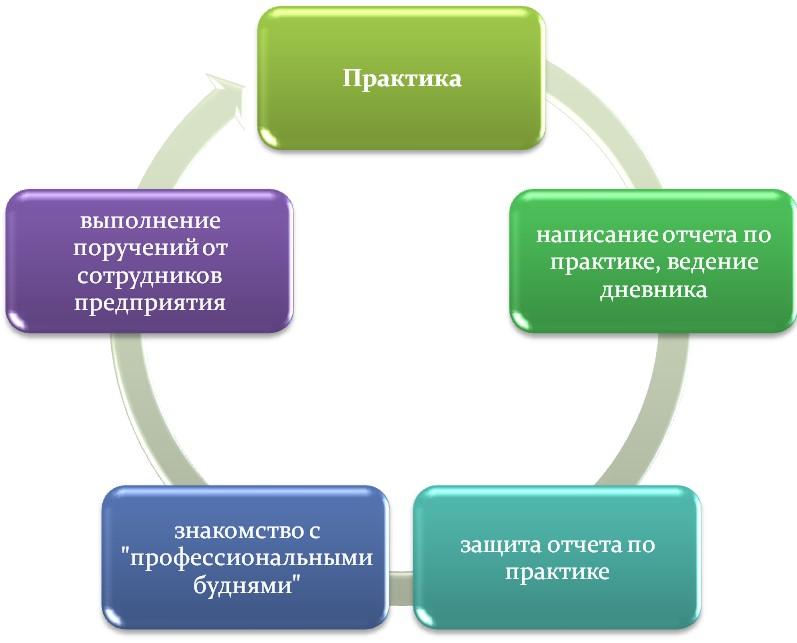 В чем заключается практика студента