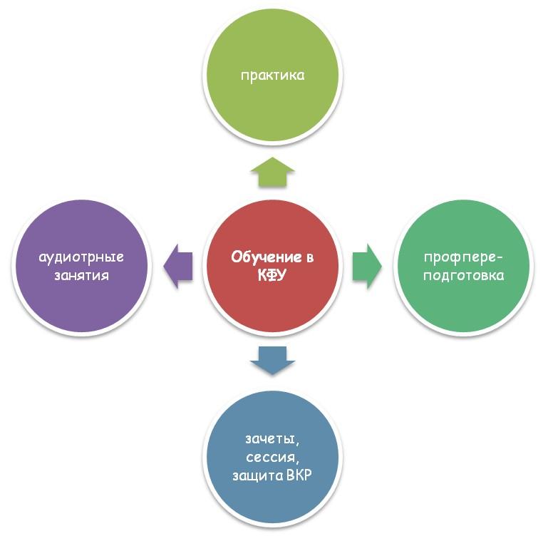 Специфика обучения в КФУ