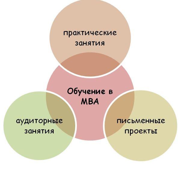 Чем занимаются учащиеся школы МВА