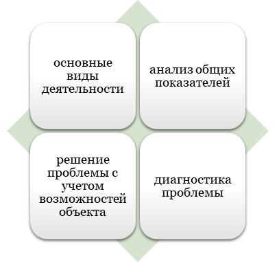 Информация об организации исследуемой в ВКР